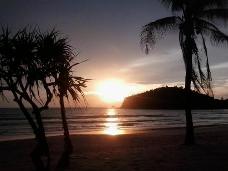 Sunset Bangtao Beach