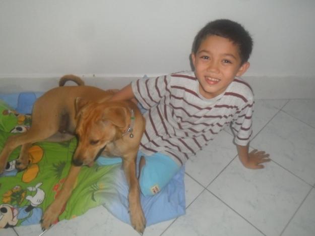 Aston with Saangchai