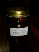 Jar of mincemeat