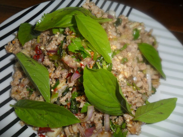 Thai Spicy  Pork Salad
