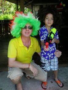 Jamie & Aston Songkram 2014