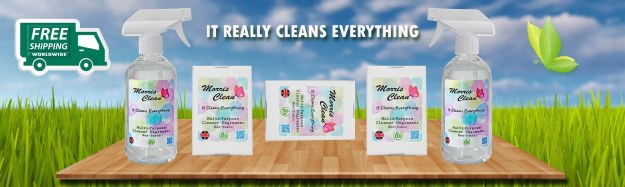 New Product Morris Clean It really Cleans Everything Safely