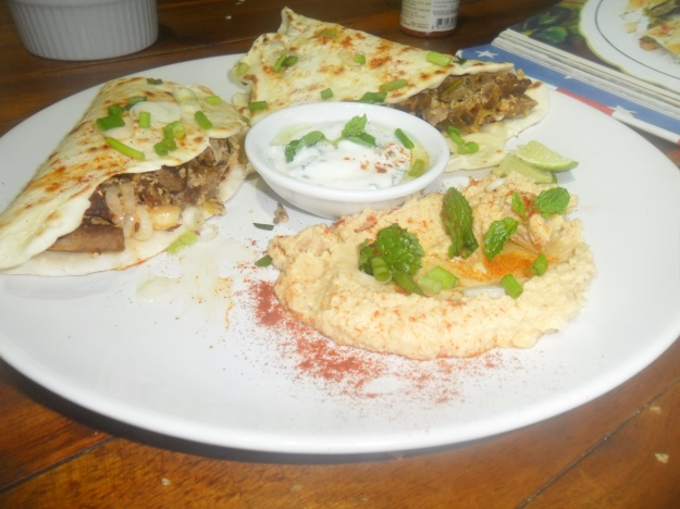 Egyptian lamb flat breads (2)
