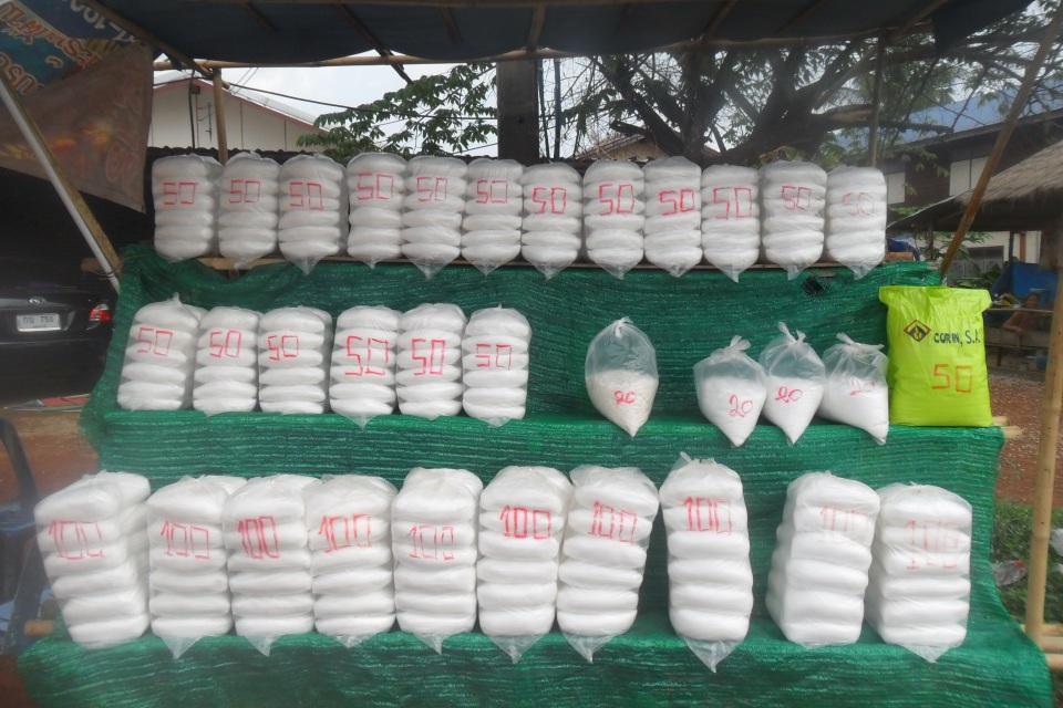 Salt-farming-northern Thailand