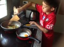 Aston cooking grapow moo 1