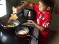 Aston cooking grapow moo 1