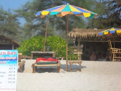 beach and chairs nice pic