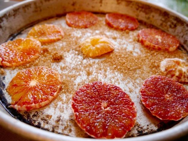Sugared blood oranges