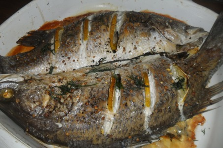 Fish with lime and fennel (2)