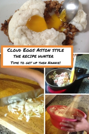 Cloud Eggs Aston style