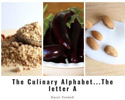 The Culinary Alphabet ...The Letter A