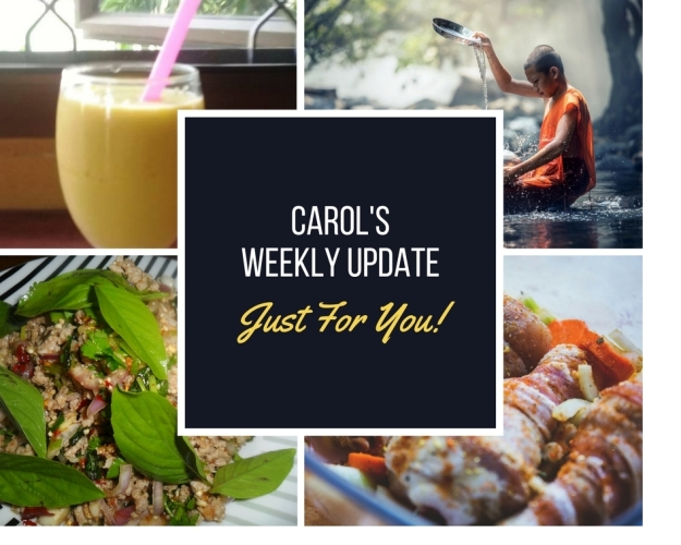 Carol's weekly update 22 march