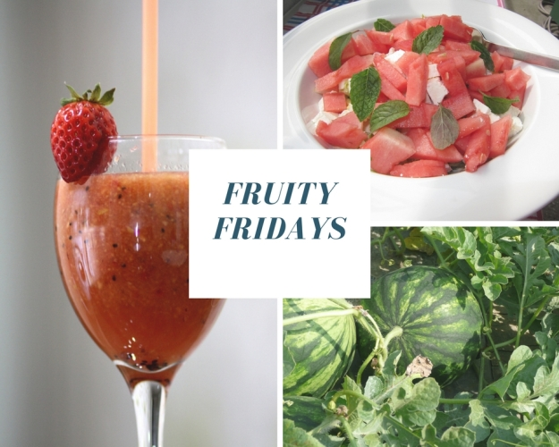 Fruity Fridays Watermelon Collage