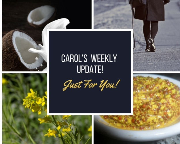 CAROL'S weekly update 12 April