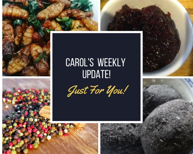 CAROL'S Weekly Update 19th April