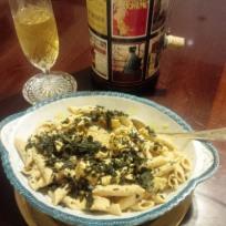 tofu penne pasta dollykosherkitchen