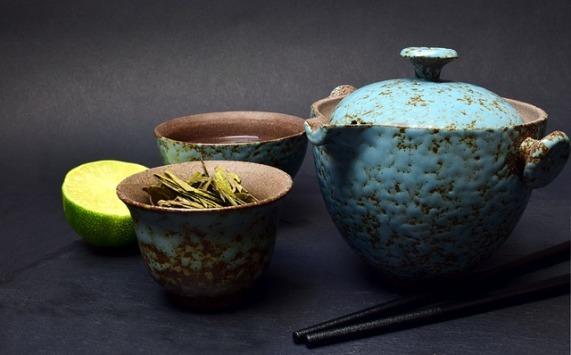Green Tea drinking set-3057645_640