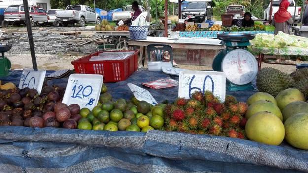 Small local market