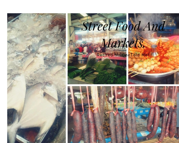 street food and markets