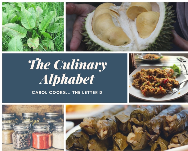 The culinary Alphabet D