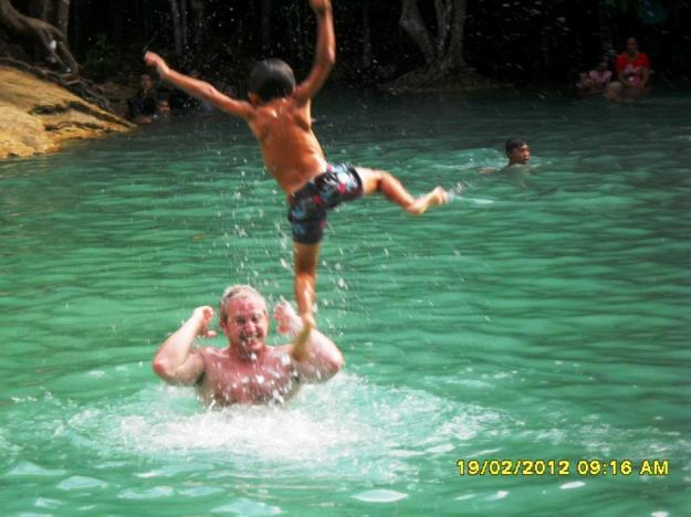 aston and sean emerald pool Krabi