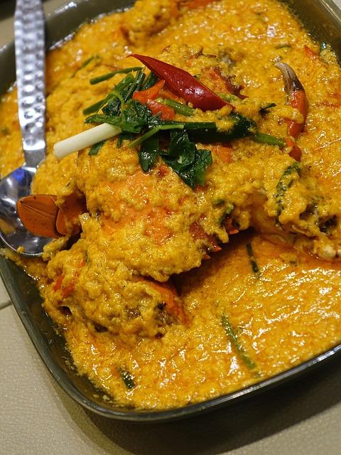 chilli- crab curry 563175_640