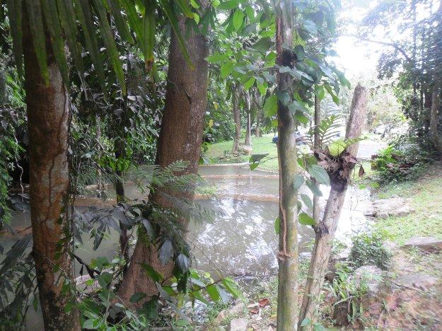 Ton tai waterfall the bottom pool