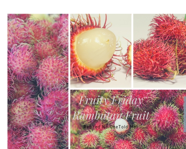 Fruity Friday, Rambutan Fruit
