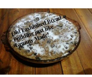 bread-pudding-old -fashined recipe