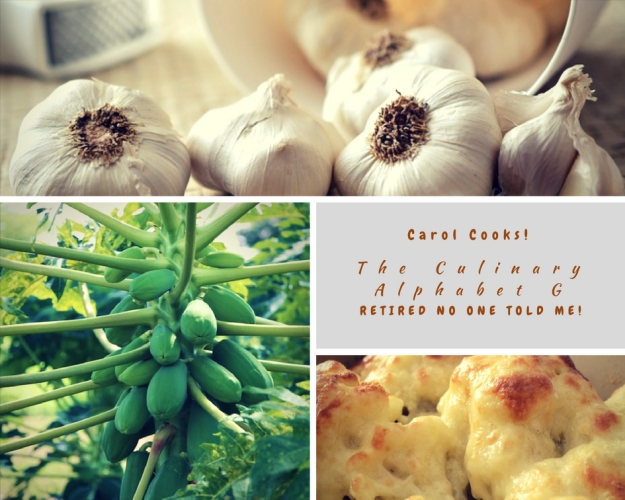 Carol Cook!Culinary Alphabet G