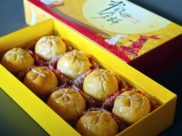 Lotus seed paste-chinese -mooncakes