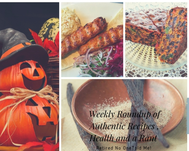 A weekly roundup recipes and rants