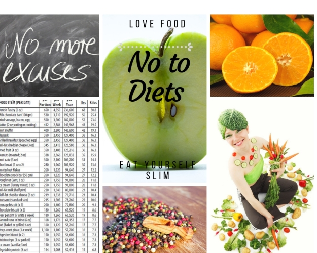 No more diets, Healthy Eating