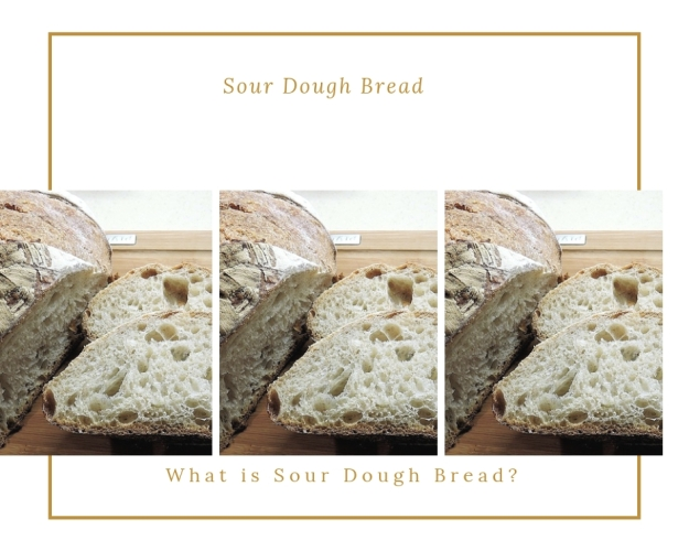Sour dough starter bread