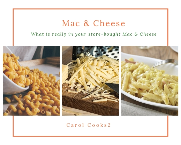 What is really in your mac & cheese