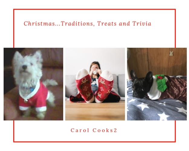 Christmas Traditions treats and sweaters