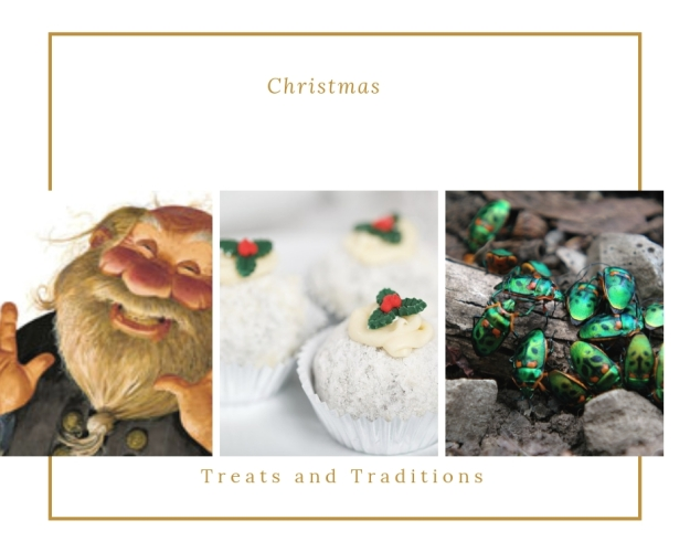 christmas puddings and pies