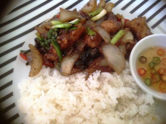 fish black bean sauce
