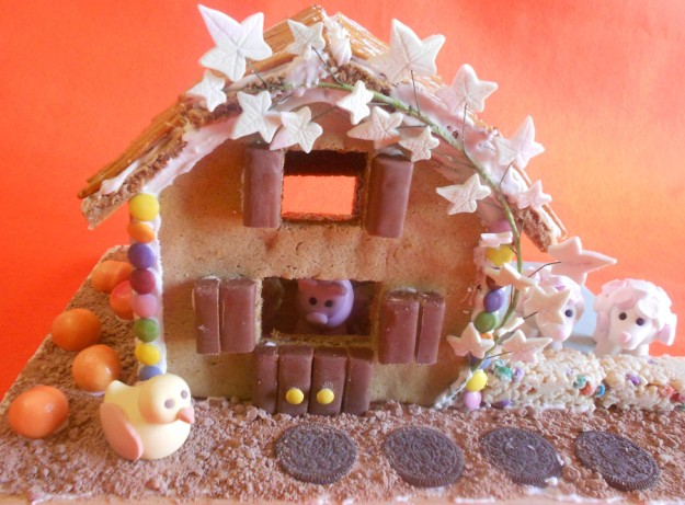 robbies gingerbread house