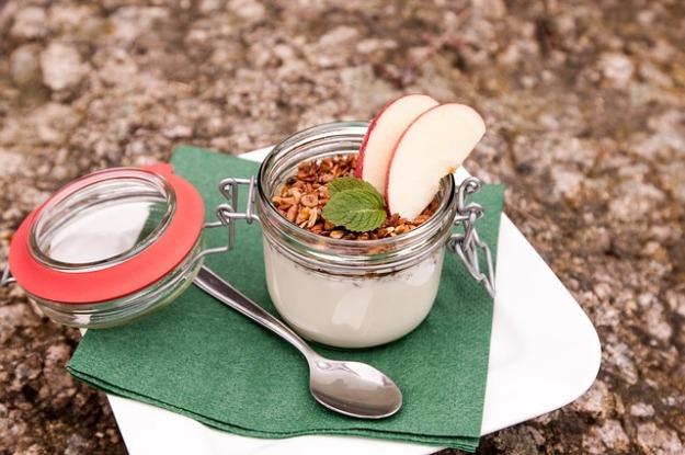 yoghurt and oats glass-617387_640