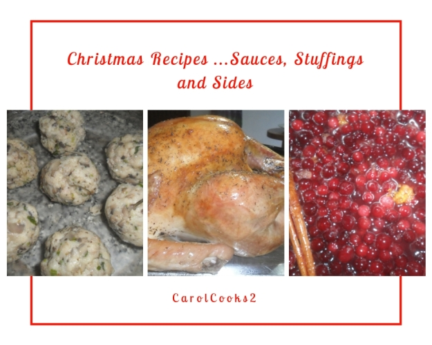 Christmas Recipes Sauces and stuffings