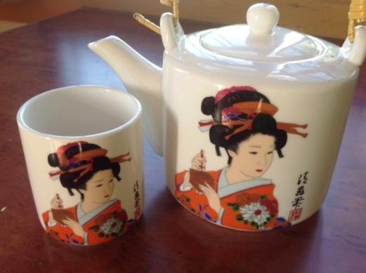 china green tea pot