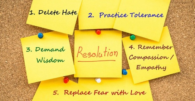 resolutions kindness tolerance