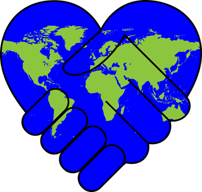 A heart map held by a hand
