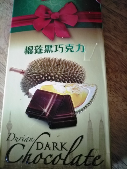 Durian chocolate bar