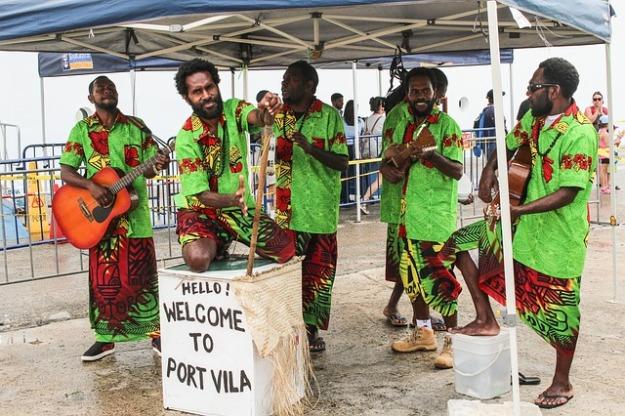 Vanuatu local band
