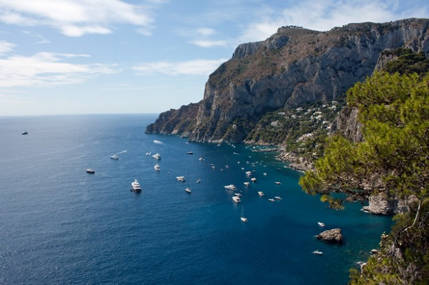 Capri a beautiful Italian Island