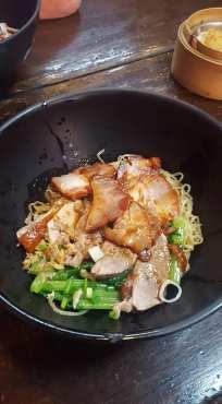 Pork Noodle soup Hkn Hongkong Noodle