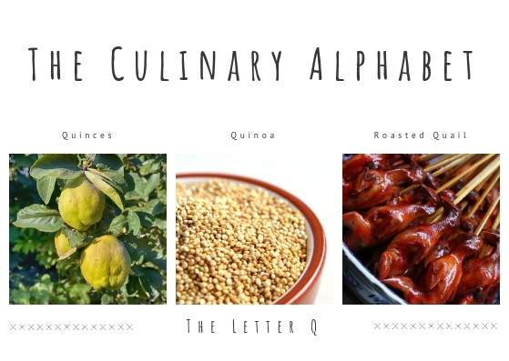 The culinary alphabet 11th June 2019