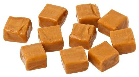 Pieces of Yorkshire fudge